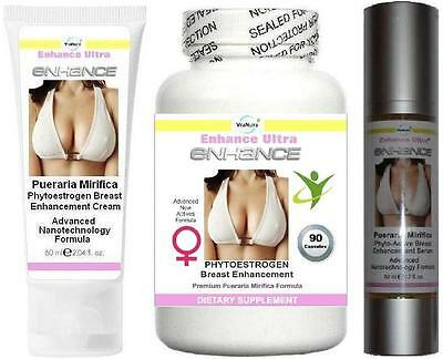 Breast Firming Enlargement Enhancement Cream Serum Capsules Firmer Breasts Lift