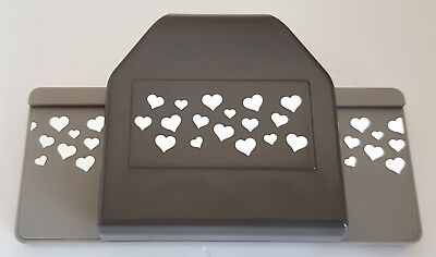Stampin' Up! 'CONFETTI HEARTS BORDER' Punch - Retired