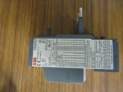 ABB Thermal Overload relay, NO/NC 0.1-0.16A 160 mA, 2.2 W TA25 - ABB 4457797