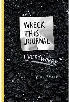 Wreck This Journal Everywhere Diary - By Keri Smith