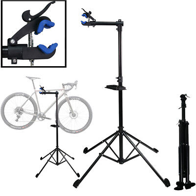 """Pro Bike 34/"""" To 62/"""" Repair Stand Aluminum w// Telescopic Arm Cycle Bicycle Rack"""