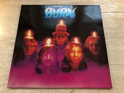 Deep Purple ‎Burn Vinyl LP 1974 German Club Edition Purple Records ‎62 908