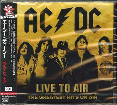 Ac/dc-Liive To Air - The Greatest Hits On Air-Import 2 Cd With Japan Obi F83