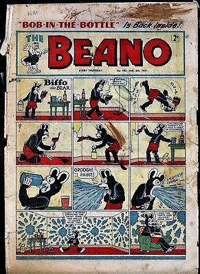BEANO # 442 January 6th 1951 the comic magazine