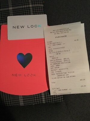 £40 new look gift card