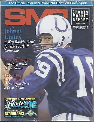 SMR Sports Market Report 2012 DEC Johnny Unitas PSA Set Collecting WSTickets