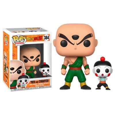 Figura Funko POP! Vinyl Chiaotzu & Tien (384) - ORIGINAL - Dragon Ball Z