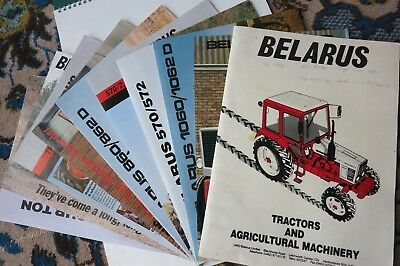 Belarus Tractor Brochures and machinery leaflets, Price list.