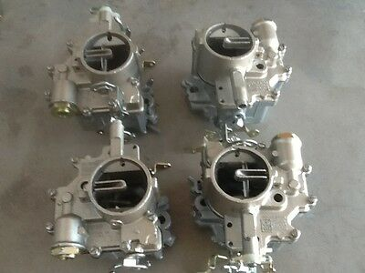 Corvair 140HP Rebuilt Wolf Carbs Using Your Carbs '65-'69 Free Return Shipping!