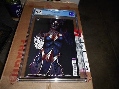 Wonder Woman #57 Cgc 9.6 (Frison Variant) (Witching Hour)