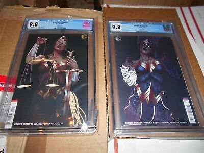 Wonder Woman #57 Cgc 9.8 (Frison Variant) (Witching Hour)