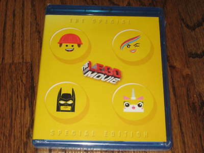 The LEGO Movie Blu Ray Special Special Edition - 2 Disc Set! Target Exclusive!
