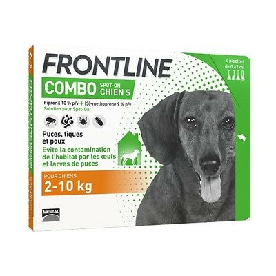 Frontline Combo S Chien (2-10 kg) - 6 pipettes