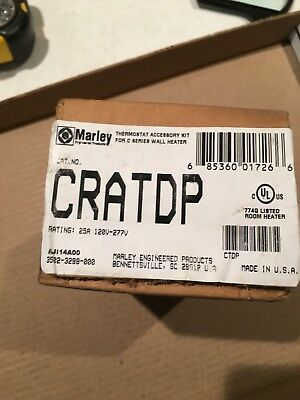NIB sealed Marley CRATDP thermostat accessory kit for C Series wall heater