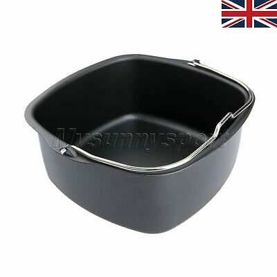 UK Non-Stick Baking Oven Dish Roasting Cooking Tray Kitchen Air Fryer Accessory