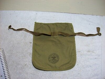 Vintage Green Boy Scout  Pouch Carrier