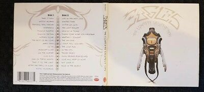 Eagles  The Complete Greatest Hits  2CD card gatefold sleeve