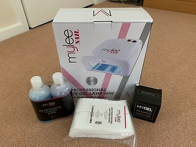 Mylee MyGel UV Nail Kit Dryer & Polish Gift Set