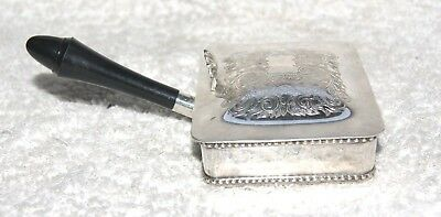 Vintage  Silver Plated E P N S Silent Butler Crumb Tray ~
