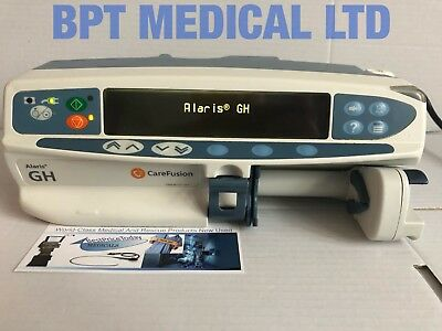 Carefusion Alaris GH Syringe Pump INFUSION IV PUMP DRIVER ADMINISTRATION