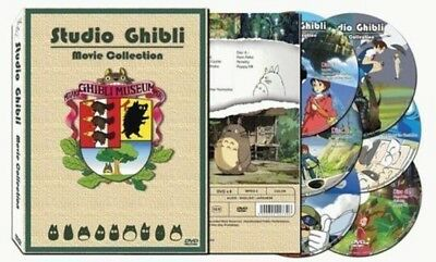 """Brand New"" 17 Movies original Studio Ghibli DVD set Collection Box  English"