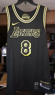 dac79ce10 Kobe Bryant City Edition Authentic Jersey Black 8 Lore Series Mamba  Aeroswift 52
