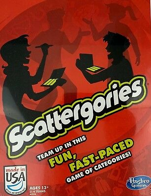 Scattergories Board Game by Hasbro Gaming NEW