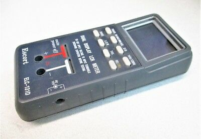 Escort ELC-131D Dual Display LCR Meter