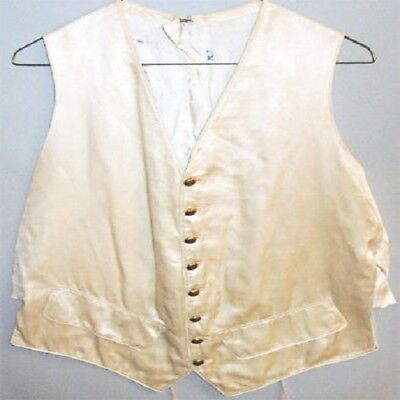 Period Vest With Brass Buttons