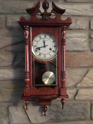 Vintage Kassel 31 Day Wall Mount Mechanical Gothic Wall Clock Key