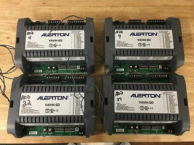 Alerton VAVIH-SD Controller (Lot Of 4) 6 outs,5 ins-Use In Place Of A VLC-550