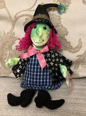 Ty Beanies Baby Scary The Witch Halloween. Immaculate Condition.