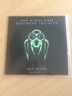 Jean Michel Jarre - Infinity Movement 6  Equinox Genuine Rca Uk 2 Track Promo Cd