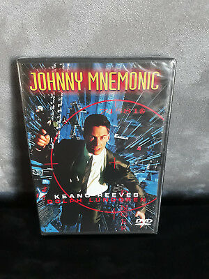 DVD JOHNNY MNEMONIC avec Keanu Reeves / SF / NEUF SOUS BLISTER