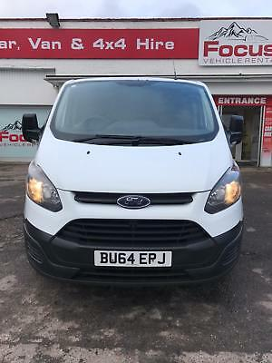 FORD TRANSIT CUSTOM 290 L1 Front Wheel drive 100ps 2014 on a 64 plate