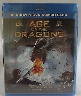 Age of the Dragons (Blu-ray/DVD, 2012, 2-Disc Set) - Brand New, Sealed