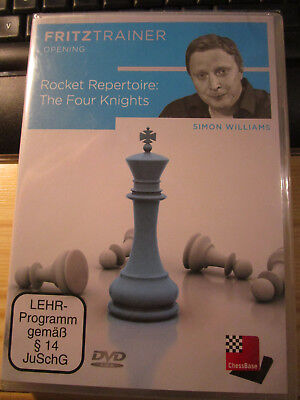 Fritz Trainer Opening Rocket Repertoire The Four Knights NP 29,90€