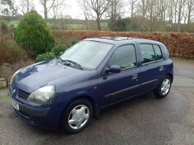 Renault Clio Expression Plus DCI 1.5, 2002, 115,000 miles, warning lights on