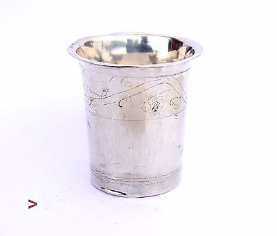1842 European solid Sterling Silver Cup / 33