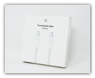 Genuine Apple Thunderbolt Cable 0.5m MD862LL/A Model A1410 White - USED