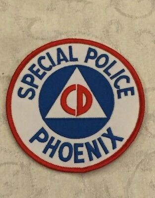 Defunct City of Phoenix Arizona Special Old Style Police Patch