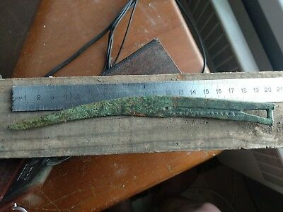 Tagar knives.Bronze knife *smile of a wolf* 100% original  Metal detector finds.