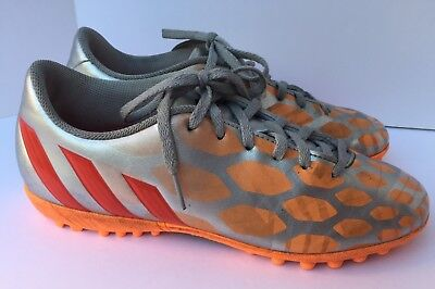 9ad78713752a ADIDAS WOMENS PREDITO Instinct Indoor Soccer Sneakers Shoes SZ 10 ...