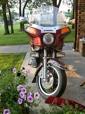1982 Honda Gold Wing  BEST OFFER: 1982 HONDA GL1100 Interstate BURGUNDY 37,795 MILES pressure-washed
