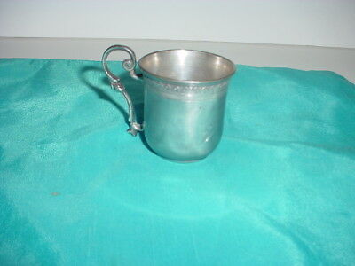 Antique German 800 Standard Solid Silver Small Cup Very Nice