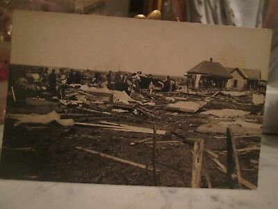 ANT 1912  Post Card,NOT POSTED Tornado Outbreak - April 27-29, 1912 Sentinel OK.