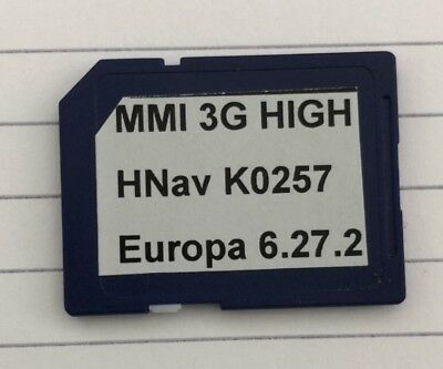 Audi MMI3G High (mit HDD) --> HNav_EU Update **2018/2019**