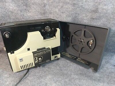 Kodak Instamatic M109 Super 8 Movie Projector Motor and Light Works