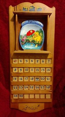 Winnie The Pooh The Whole Year Through complete set w original frame and tiles