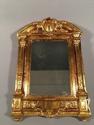 Vintage Hand Gilded Florentine Mirror, Made in Italy